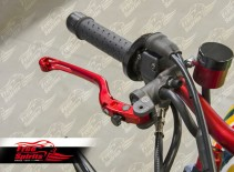 Reclining lever for Brembo Radial Master Cylinder with axis 20 (Red)