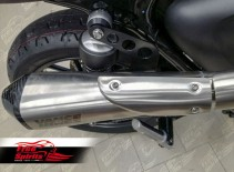 Exhaust Bracket & Passenger Footrest Spacer for Triumph Street Twin
