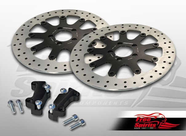 Free Spirits Hd Sportster Dual Disc Mm Brake Rotors Kit on Sportster Transmission Parts