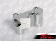 """Risers Oversize (28.6 mm - 1 1/8"""") wide 80 mm (Silver)"""