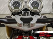 "Oversize Risers (28.6 mm-1 1/8"") for Triumph Thruxton R (Silver)"