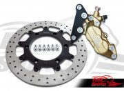 Brake caliper 4 pot front bracket for Triumph Bonneville & Scrambler