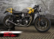 """High Flow """"water proof"""" Air Cleaner kit for Triumph Street Twin, Street Cup & T100 2016 up"""