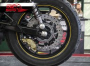 Triumph Street Twin & Street Cup rear Up Grade Floating Rotor and 4pot Caliper kit