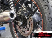 Triumph New Classic rear Caliper relocation bracket