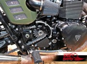 Sprocket Cover for Triumph Classic & Cruiser (Contrast Cut)