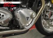 Triumph New Classic engine protection (Silver)