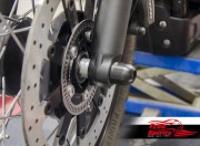 Triumph New Classic Front Axle Protector/Sliders