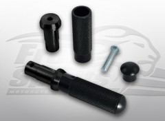 Foot-pegs for Harley Davidson XR1200 (Black)
