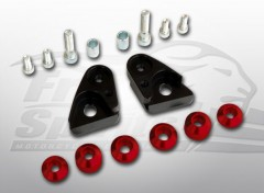 Riser Block for Triumph Classic (Red)