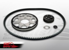 Belt drive conversion for Triumph Bonneville T120 (Silver)