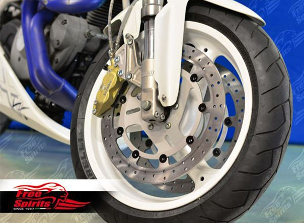 Dual front disc kit for Buell until 2001 (base kit)