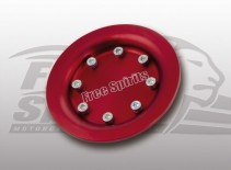 207616r free spirits harley xr 1200 pulley cover red b