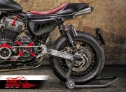 Supports immatriculation pour Harley Davidson Sportster