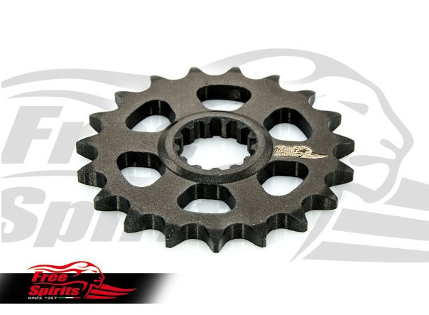 307584 free spirits 19 teeth pulley for triumph classic