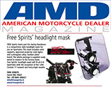 amd press headlight for harley davidson sportster
