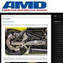 amd press v-rod footrest